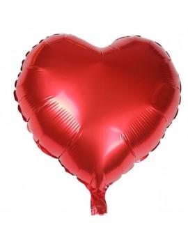 Serce - balon helowy (foliowy)
